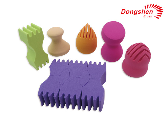Different shapes latex free Makeup Sponges