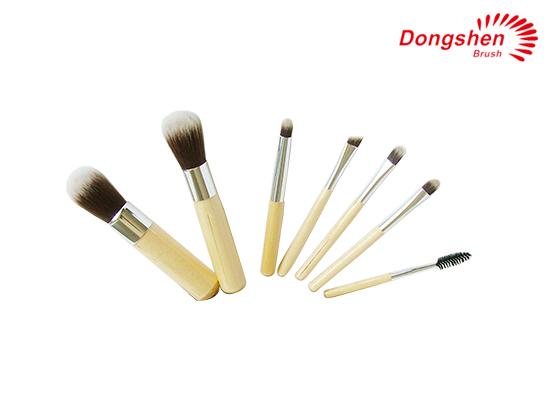 Bamboo handle 7pcs Makeup Brush Set